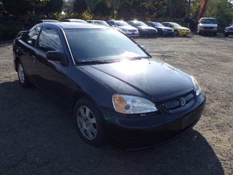 2003 Honda Civic for sale at GLOBAL MOTOR GROUP in Newark NJ