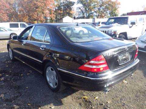 2000 Mercedes-Benz S-Class for sale at GLOBAL MOTOR GROUP in Newark NJ