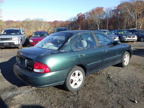 2001 Nissan Sentra for sale at GLOBAL MOTOR GROUP in Newark NJ