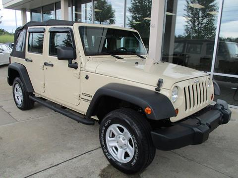 2011 Jeep Wrangler Unlimited for sale in Monroe, NC