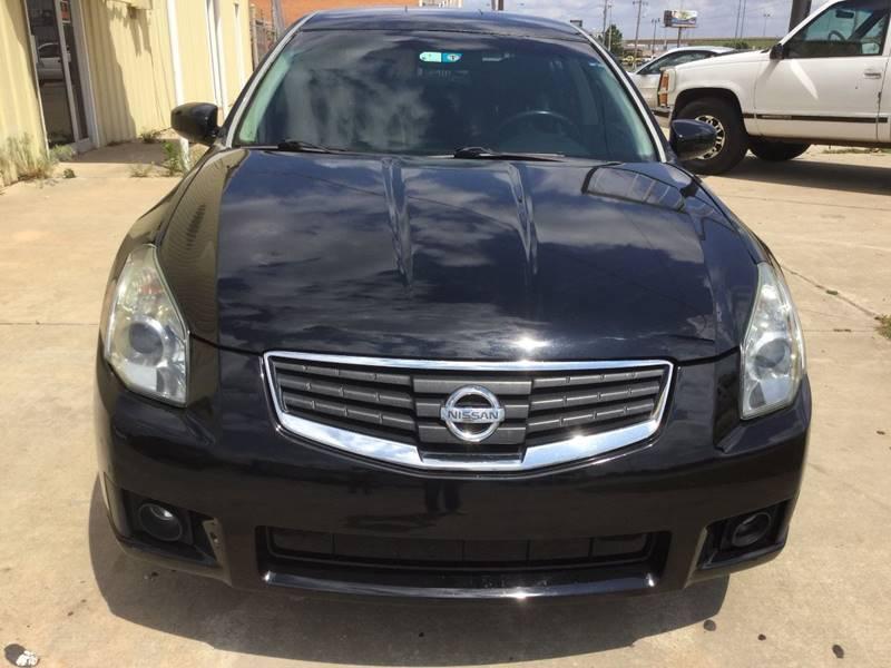 2008 Nissan Maxima 3.5 SE 4dr Sedan - Oklahoma City OK
