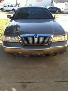 2002 Mercury Grand Marquis for sale at LOWEST PRICE AUTO SALES, LLC in Oklahoma City OK
