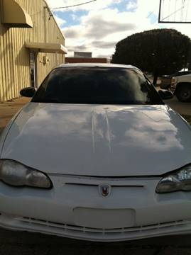 2002 Chevrolet Monte Carlo for sale at LOWEST PRICE AUTO SALES, LLC in Oklahoma City OK