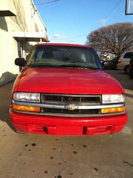 2000 Chevrolet S-10 for sale at LOWEST PRICE AUTO SALES, LLC in Oklahoma City OK