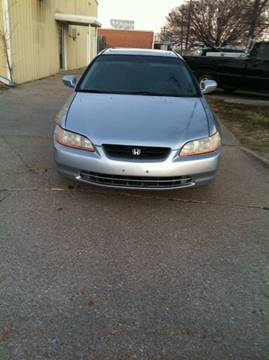 2001 Honda Accord for sale at LOWEST PRICE AUTO SALES, LLC in Oklahoma City OK