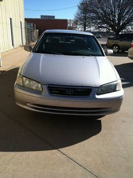 2001 Toyota Camry for sale at LOWEST PRICE AUTO SALES, LLC in Oklahoma City OK