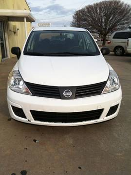 2009 Nissan Versa for sale at LOWEST PRICE AUTO SALES, LLC in Oklahoma City OK