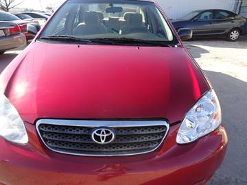 2007 Toyota Corolla for sale at LOWEST PRICE AUTO SALES, LLC in Oklahoma City OK