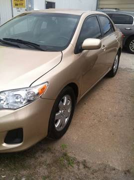2012 Toyota Corolla for sale at LOWEST PRICE AUTO SALES, LLC in Oklahoma City OK