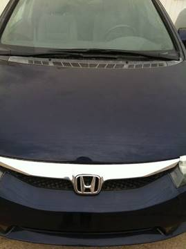 2010 Honda Civic for sale at LOWEST PRICE AUTO SALES, LLC in Oklahoma City OK