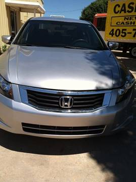 2008 Honda Accord for sale at LOWEST PRICE AUTO SALES, LLC in Oklahoma City OK
