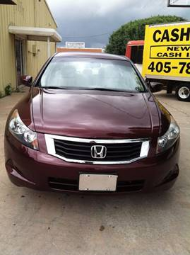 2010 Honda Accord for sale at LOWEST PRICE AUTO SALES, LLC in Oklahoma City OK