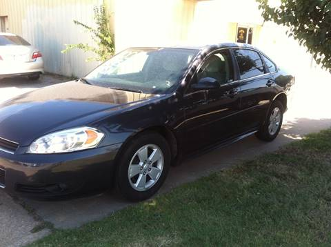 2009 Chevrolet Impala for sale at LOWEST PRICE AUTO SALES, LLC in Oklahoma City OK