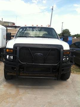 2008 Ford F-450 for sale at LOWEST PRICE AUTO SALES, LLC in Oklahoma City OK