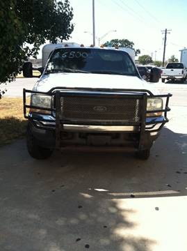 2004 Ford F-450 for sale at LOWEST PRICE AUTO SALES, LLC in Oklahoma City OK