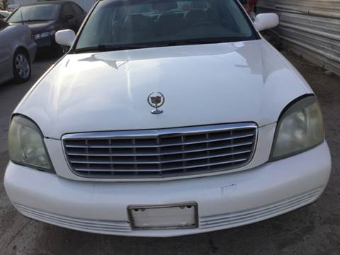 2005 Cadillac DeVille for sale at LOWEST PRICE AUTO SALES, LLC in Oklahoma City OK