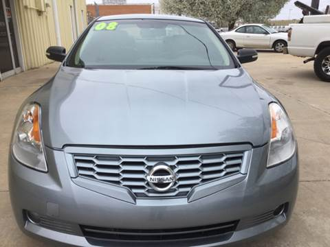 2008 Nissan Altima for sale at LOWEST PRICE AUTO SALES, LLC in Oklahoma City OK