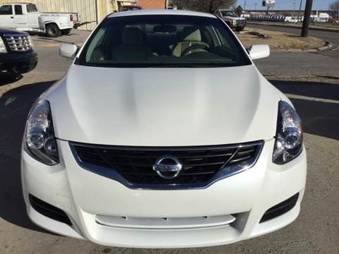 2010 Nissan Altima for sale at LOWEST PRICE AUTO SALES, LLC in Oklahoma City OK