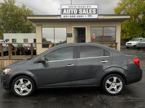 2012 Chevrolet Sonic for sale in Ogden, UT
