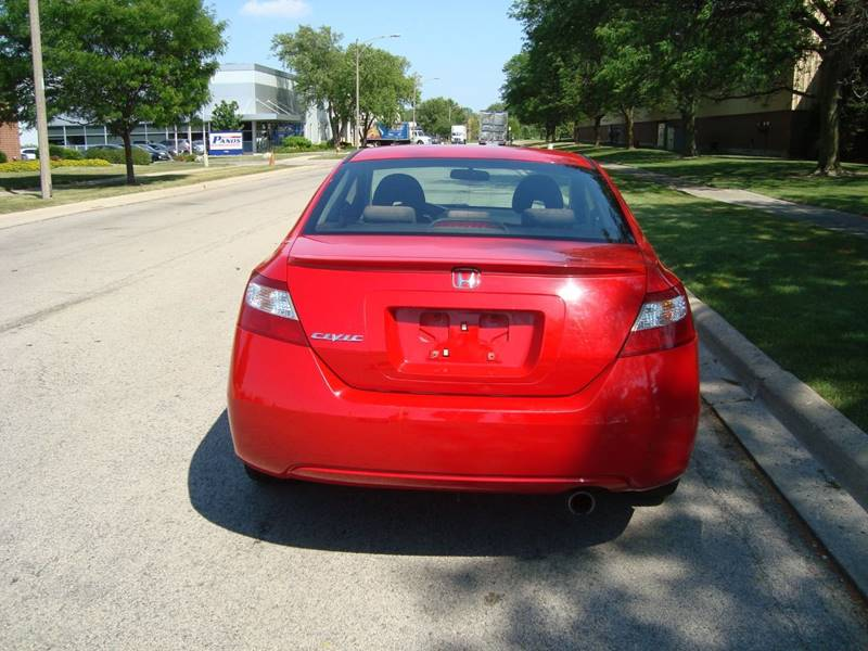 2007 Honda Civic for sale at ARIANA MOTORS INC in Itasca IL