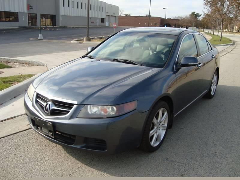 2005 Acura TSX for sale at ARIANA MOTORS INC in Itasca IL