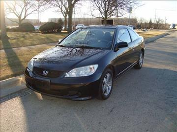 2004 Honda Civic for sale at ARIANA MOTORS INC in Itasca IL