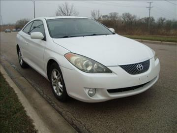 2005 Toyota Camry Solara for sale at ARIANA MOTORS INC in Itasca IL
