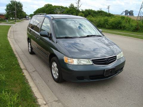 2004 Honda Odyssey for sale at ARIANA MOTORS INC in Itasca IL