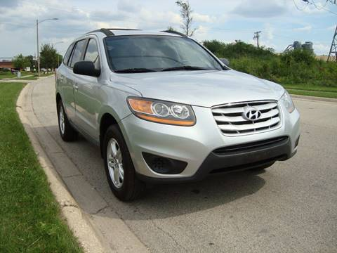 2010 Hyundai Santa Fe for sale at ARIANA MOTORS INC in Itasca IL