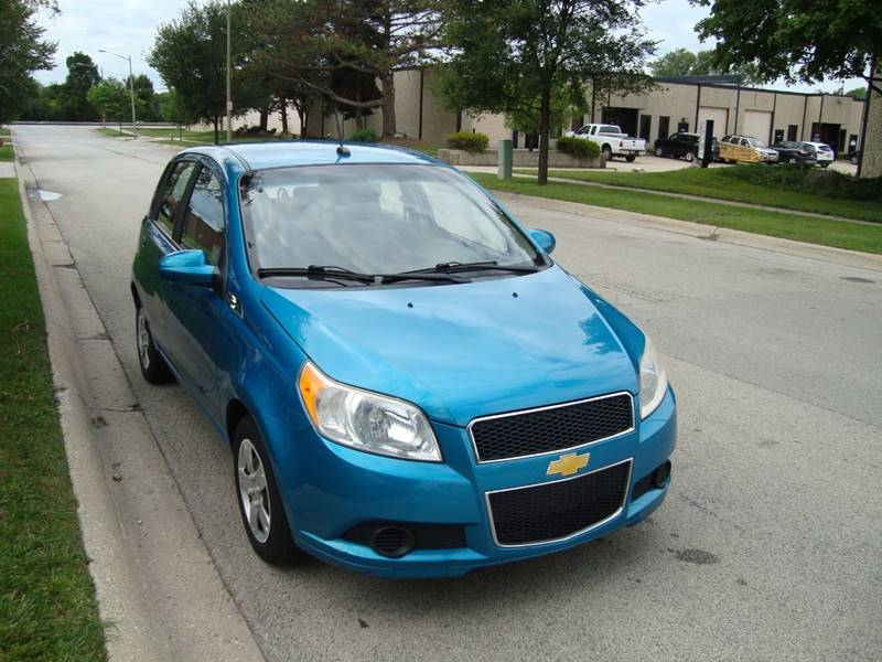 2009 Chevrolet Aveo for sale at ARIANA MOTORS INC in Itasca IL