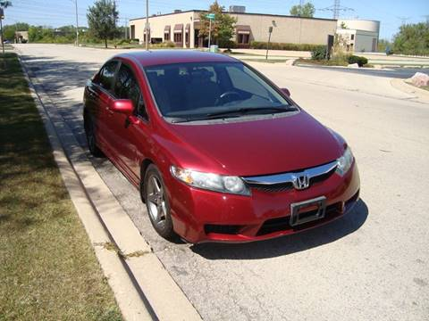 2010 Honda Civic for sale at ARIANA MOTORS INC in Itasca IL