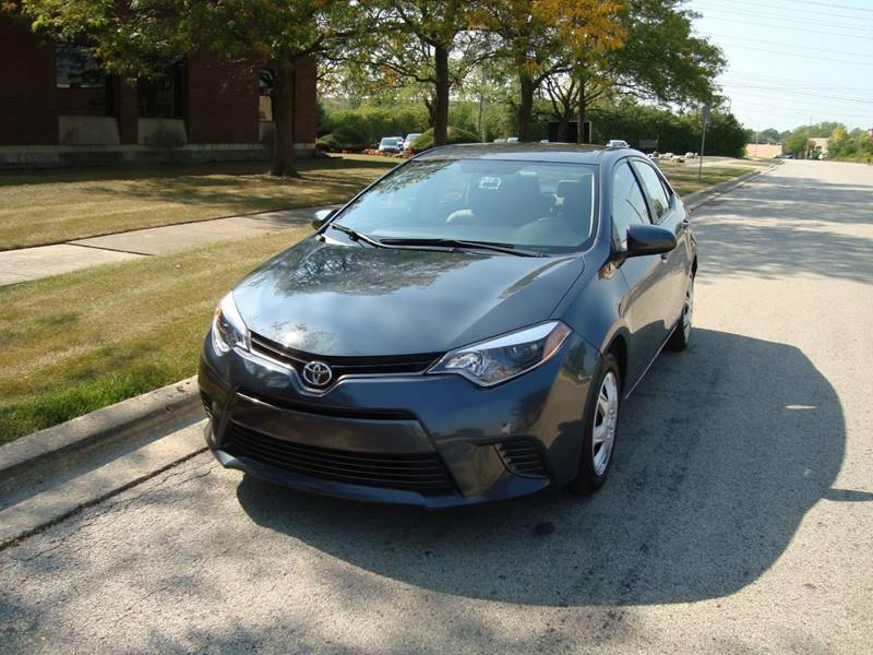 2016 Toyota Corolla for sale at ARIANA MOTORS INC in Itasca IL