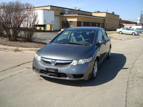 2011 Honda Civic for sale at ARIANA MOTORS INC in Addison IL
