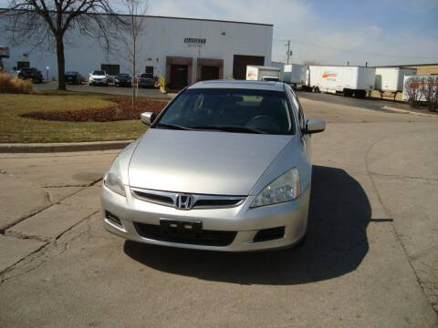 2007 Honda Accord for sale at ARIANA MOTORS INC in Addison IL