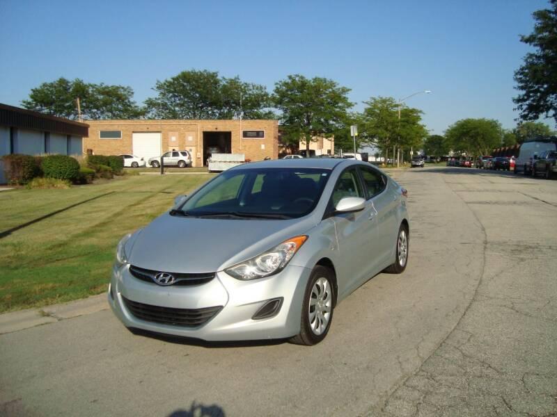 2012 Hyundai Elantra for sale at ARIANA MOTORS INC in Addison IL