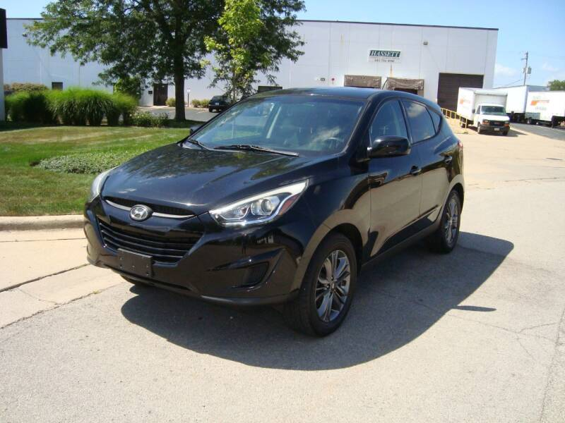 2014 Hyundai Tucson for sale at ARIANA MOTORS INC in Addison IL