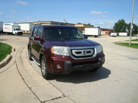 2009 Honda Pilot for sale at ARIANA MOTORS INC in Addison IL