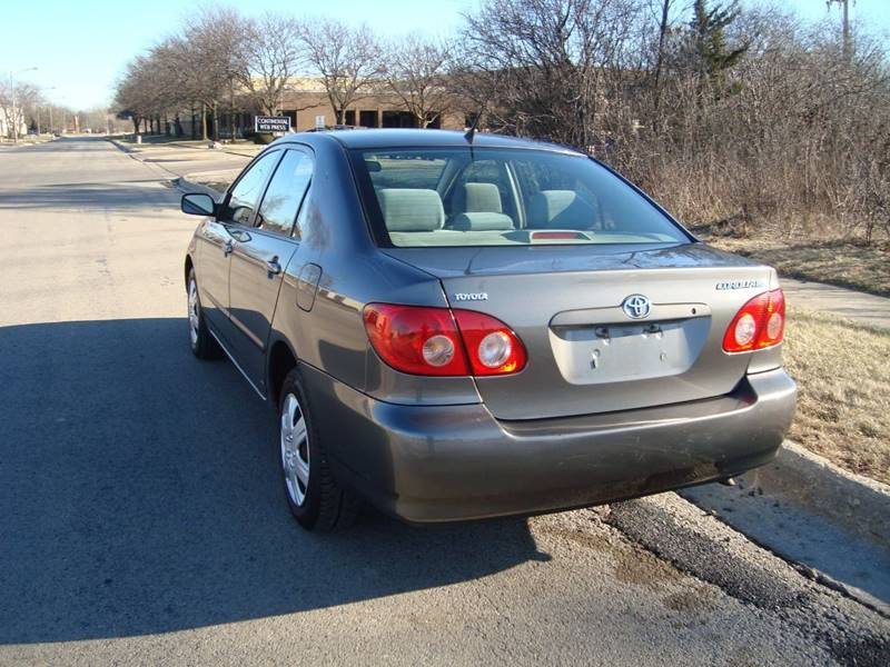2007 Toyota Corolla for sale at ARIANA MOTORS INC in Itasca IL