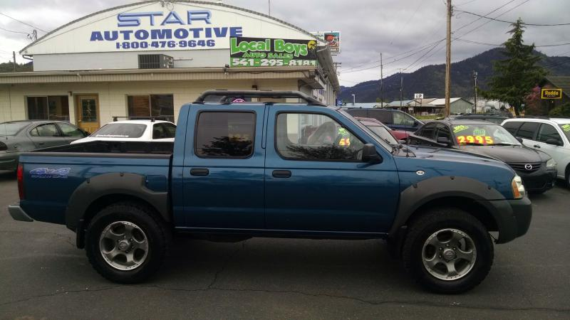 2001 Nissan Frontier CREW CAB XE - Grants Pass OR