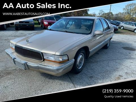 1996 Buick Roadmaster for sale at AA Auto Sales Inc. in Gary IN
