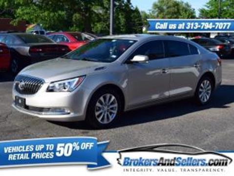 2014 Buick LaCrosse for sale in Taylor, MI