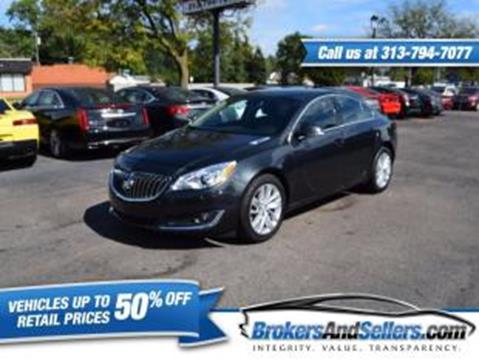 2015 Buick Regal for sale in Taylor, MI
