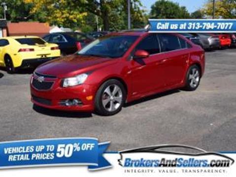 2011 Chevrolet Cruze for sale in Taylor, MI