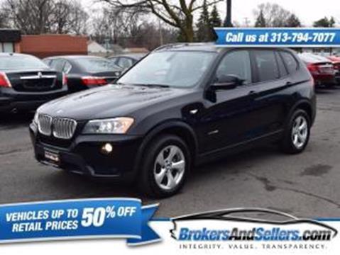 2012 BMW X3 for sale in Taylor, MI