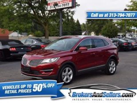 2017 Lincoln MKC for sale in Taylor, MI