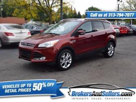 2014 Ford Escape for sale in Taylor, MI