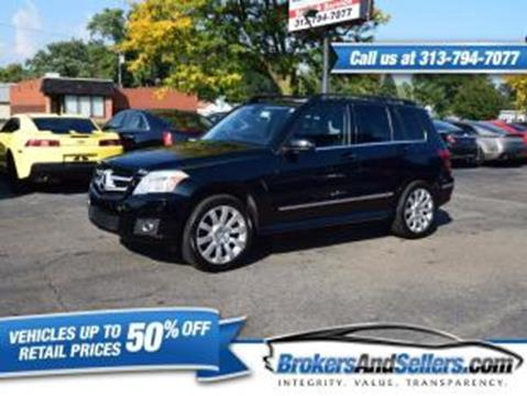 2010 Mercedes-Benz GLK for sale in Taylor, MI