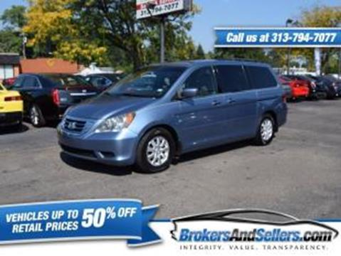 2010 Honda Odyssey for sale in Taylor, MI