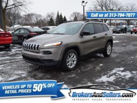 2017 Jeep Cherokee for sale in Taylor, MI