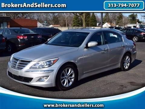 2013 Hyundai Genesis for sale in Taylor, MI